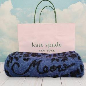 Kate Spade Leopard Muffler Scarf